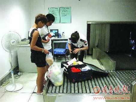 国内:青岛机场增开安检入口 开包检查飞京沪和新疆航班